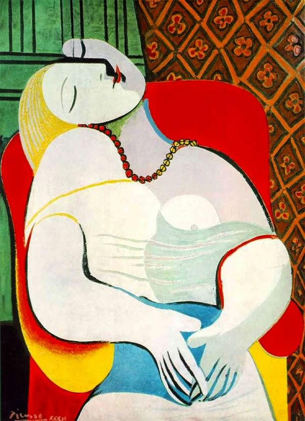 Пабло Пикассо Сон. 1932
