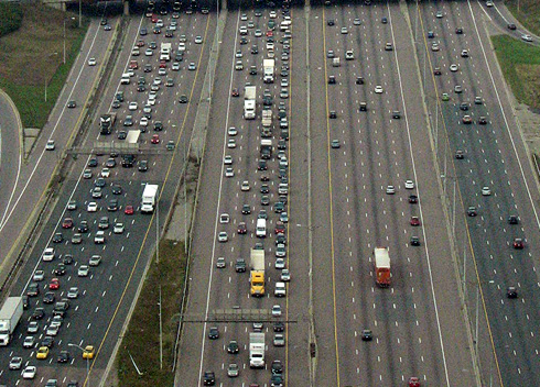 Is This The Worlds Widest Freeway?
