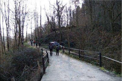 Puente sobre Mendabe erreka