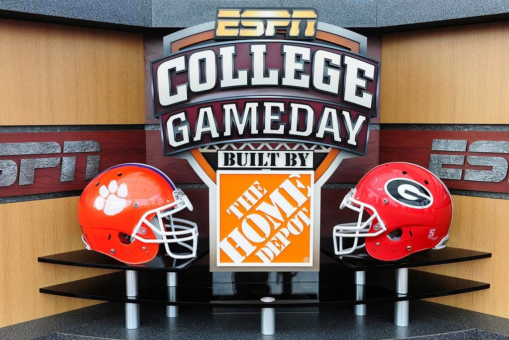 espn game day college footballs