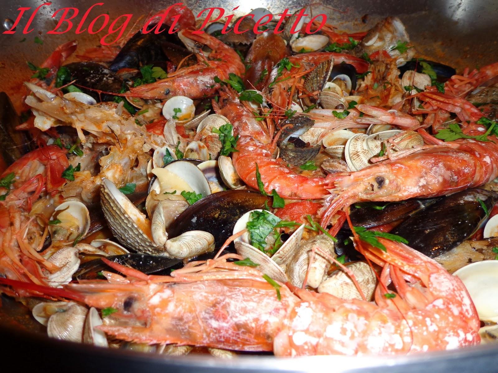 rivisitazione di zuppa di pesce