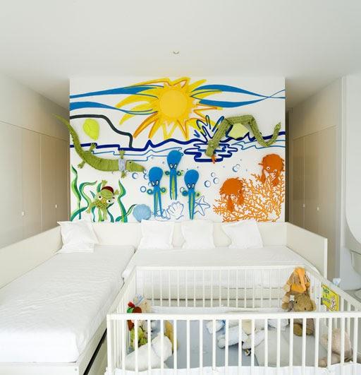 Dormitorios para3 con for Dormitorios pequenos para adultos
