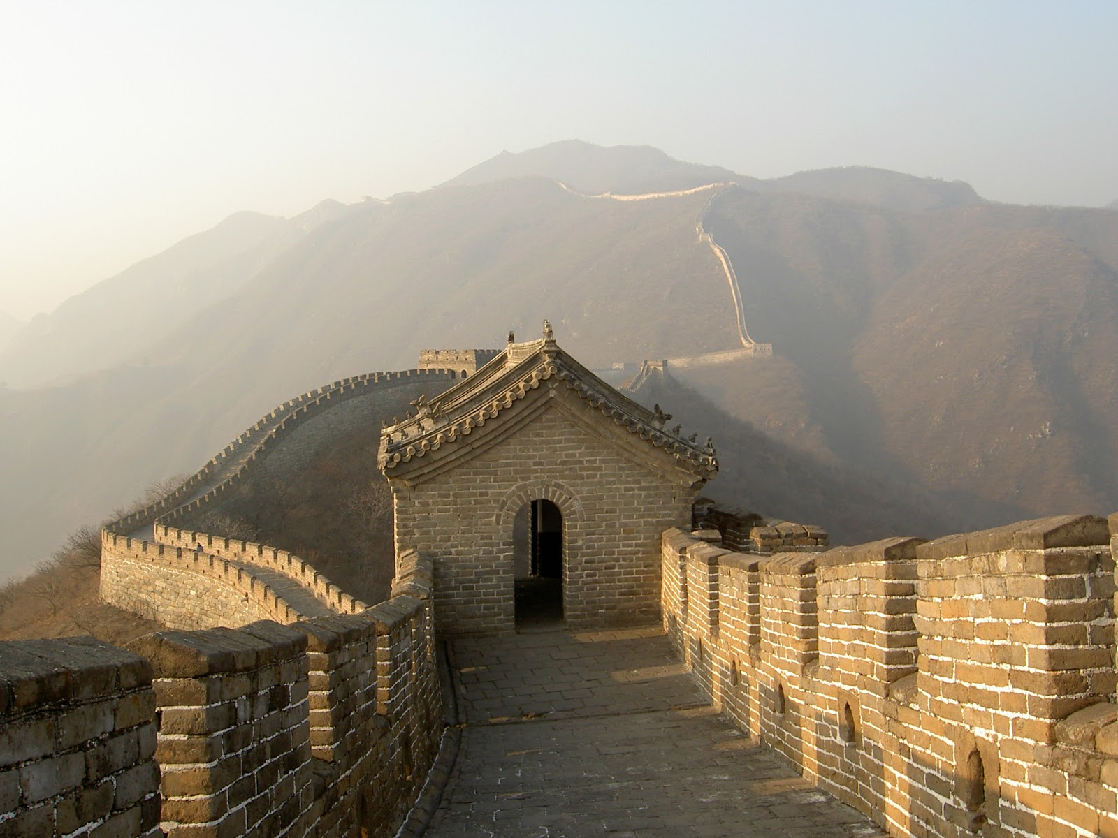 Paren las rotativas las siete nuevas maravillas del mundo for Q es la muralla china