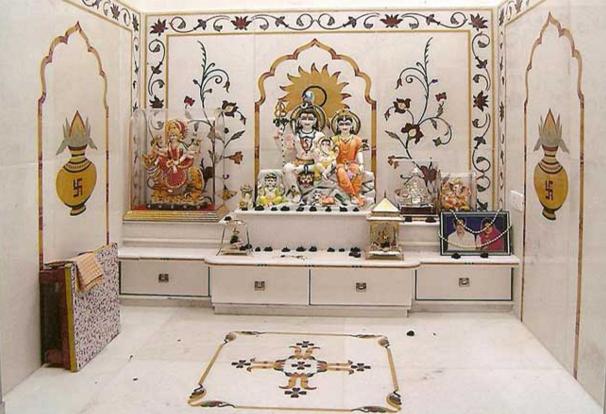 पूजाघर मंदिर बनवाने के महत्वपूर्ण टिप्स
