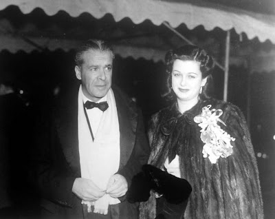 Joan Bennett with husband Walter Wanger