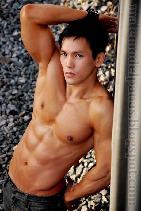 exotic male model from asia