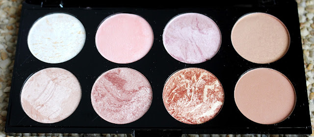 avis palette golden sugar makeup revolution
