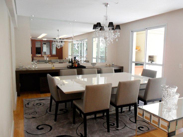 Construindo minha casa clean d vida da leitora salas de for Sala de estar sala de jantar