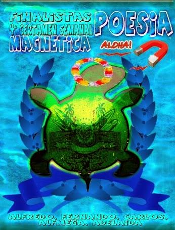 Finalistas 4º Certamen de Poesía Magnética