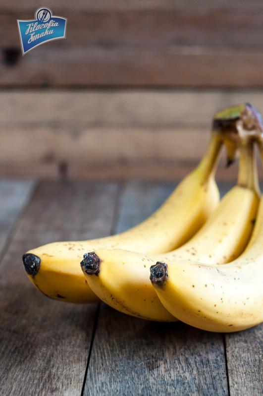 Racuchy z bananami przepis