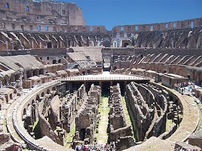 El Teatro Coliseo de Roma (Italia) - Julio de 2006