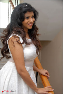 Lakshmi Nayar  Pictures in White Dress at 143 Hyderabad Movie Audio Launch  0005