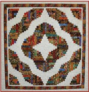 LOG CABIN QUILTING PATTERNS « Free Patterns