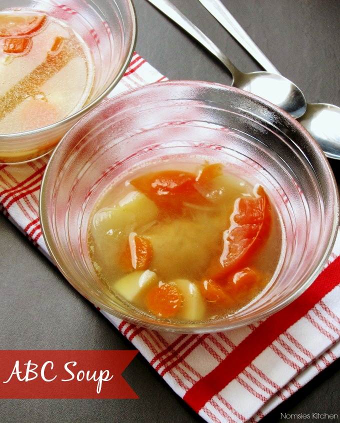 ABC Soup by Nomsies Kitchen