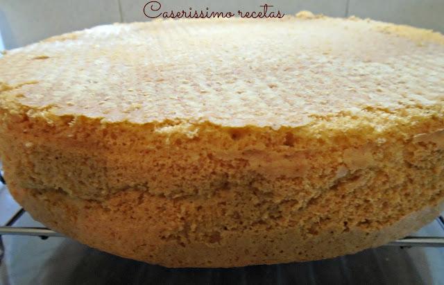 Torta Chiffon De Vainilla, Bien Esponjosa Y Sin Manteca!