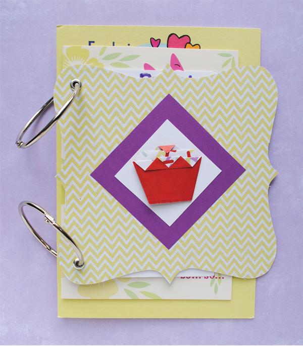 Zakka Life: DIY Card Keepsake
