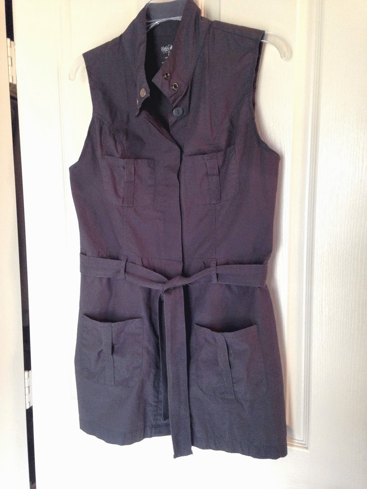 Ulterior Alterations: Refashioned Utility Vest Closed
