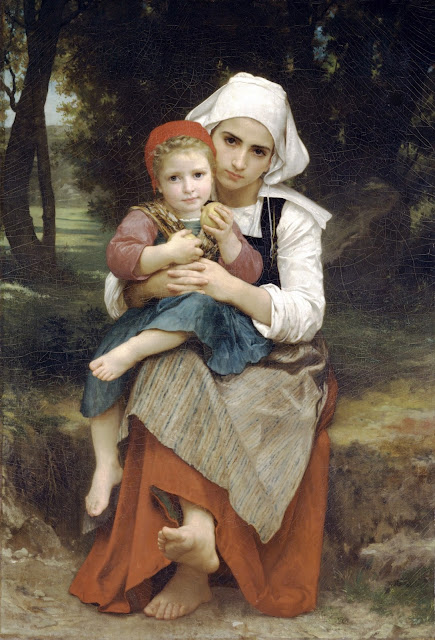 Breton,genre painting,William Adolphe Bouguereau