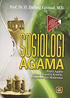 toko buku rahma: buku SOSIOLOGI AGAMA, pengarang dadang kahmad, penerbit pustaka setia
