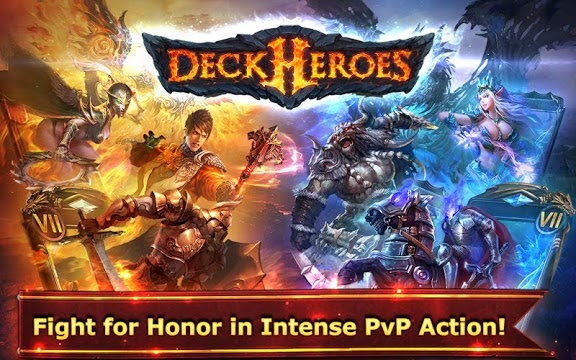 Deck Heroes Gameplay