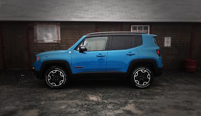 2015 Jeep Renegade Trailhawk blue