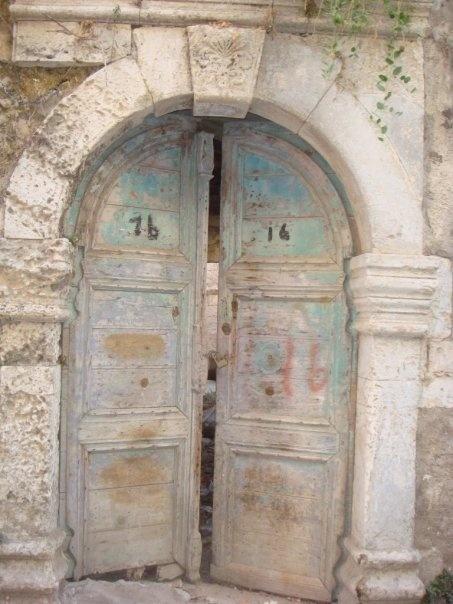 De mi mano by b4living la entrada lo dice todo for Restaurar puertas antiguas de exterior