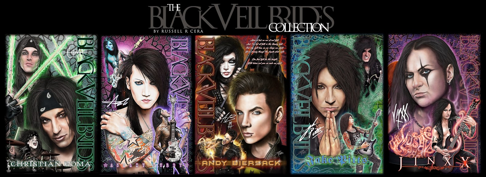 Creations By Russell R Cera The Black Veil Brides How Music