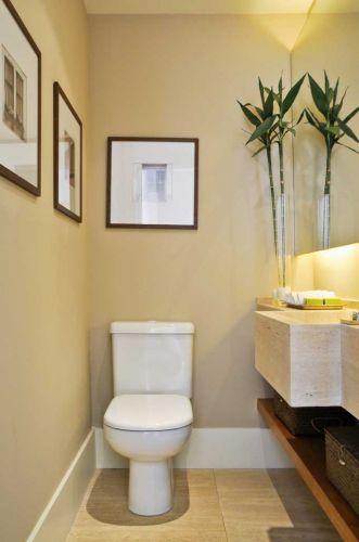 Decora interi banheiros e lavabos sem janela for Decoracion de lavabos pequenos