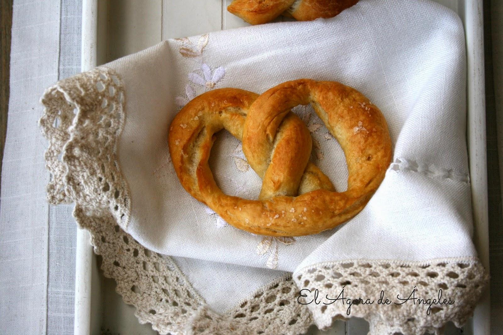 Cómo hacer pretzels-bretzels paso a paso