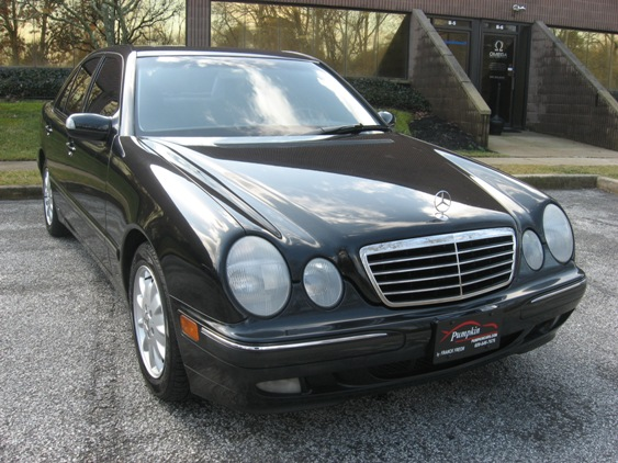 Pumpkin fine cars and exotics 2001 mercedes benz e320 for 2001 mercedes benz e320