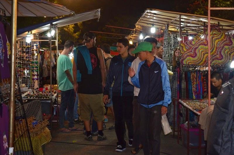 Chiang Mai, Sunday market, Thailande