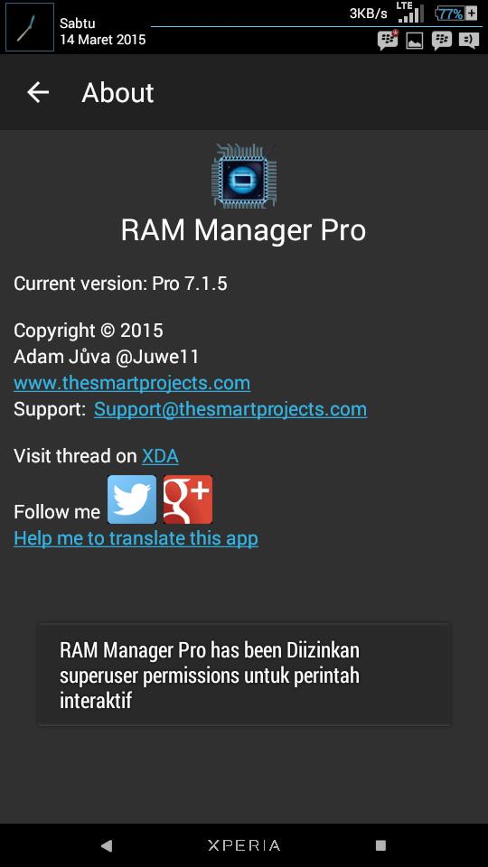 RAM Manager Pro V7.1.5 Apk