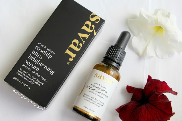 Savar Rosehip Ultra Brightening Serum