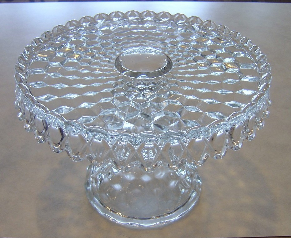 One thing for sure about the antiques and collectibles business is it is always changing and if you donu0027t pay attention you will loose out. & Cash it Stash it or Trash it: Fostoria American Pedestal Cake Stand