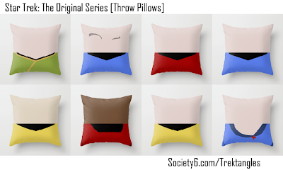 Star Trek The Original Series Pillows