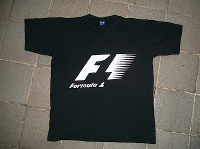 Camiseta F1 do PH Miniaturas