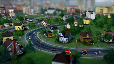 simcity 5 (2013) curved roads online city builder