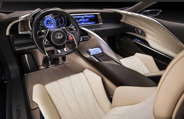 2017 Lexus LF LC Interior