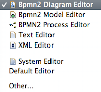 Jboss developer studio 5 how to add eclipse bpmn2 modeler as jbpm fig 3 modeler menu ccuart Gallery