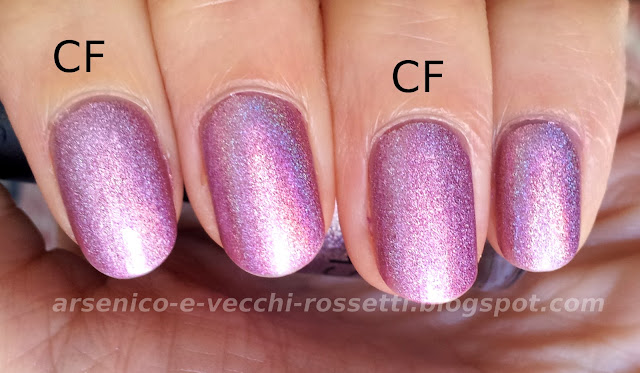Shaka smalto olografico Hologram Violet #03 Mavala ColorFix swatch
