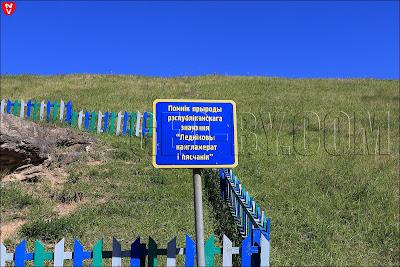 Помнік прыроды рэспубліканскага значэння Ледніковы кангламерат і пясчанік