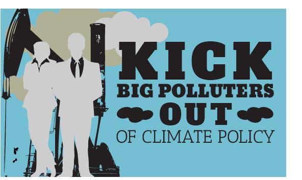 Διαφωνούμε με τις χορηγίες των μεγάλων ρυπαντών