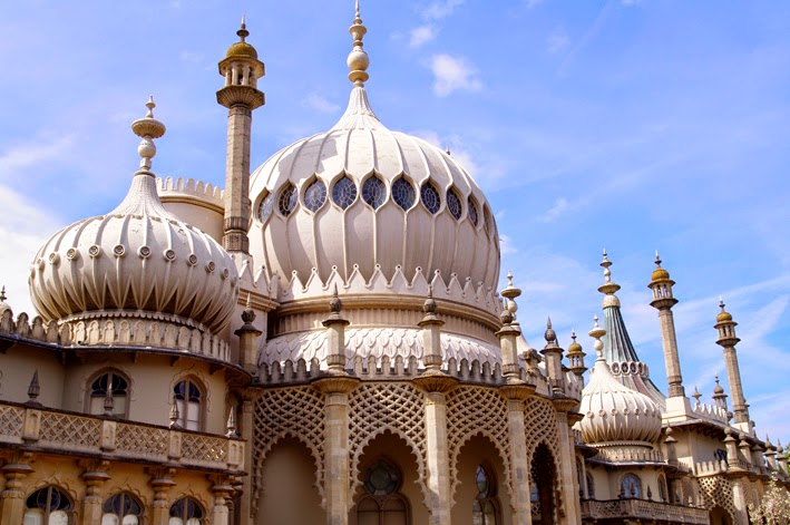brighton royal pavilion the back