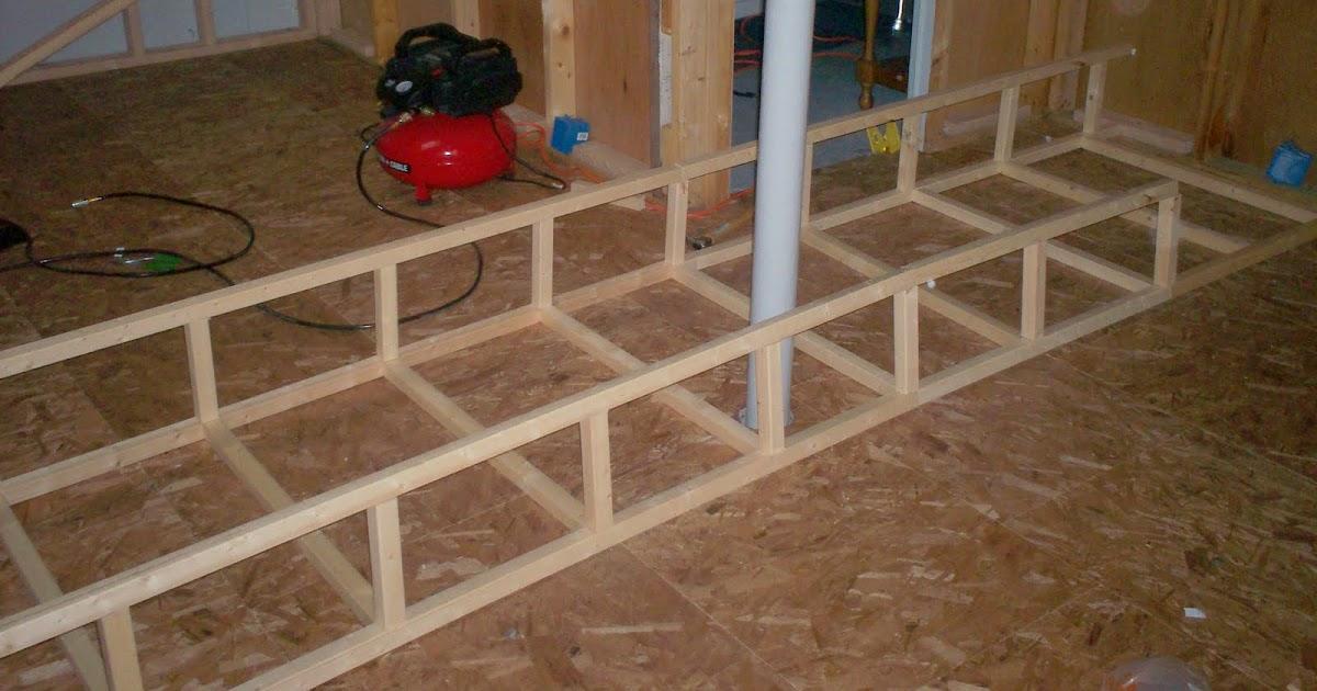 my basement finishing project