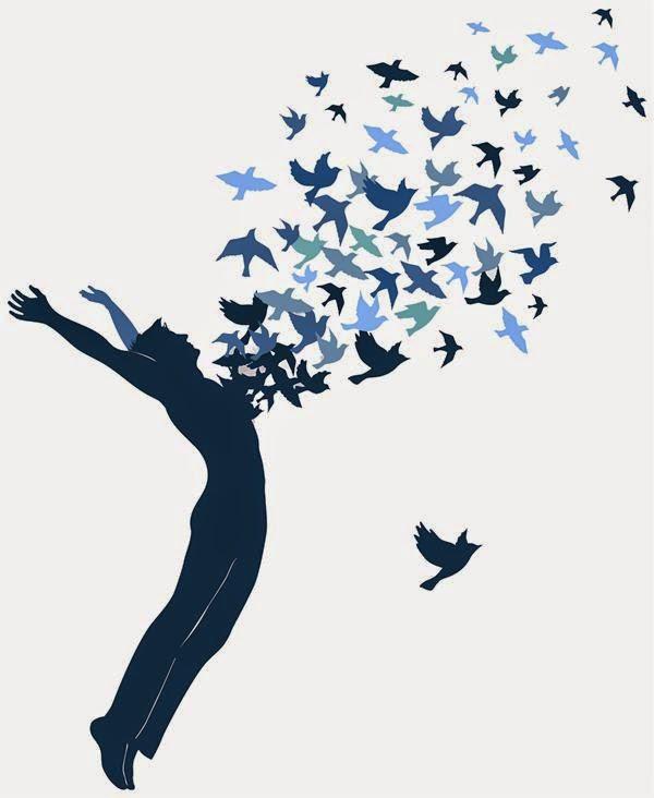 poesía libera pájaros del alma