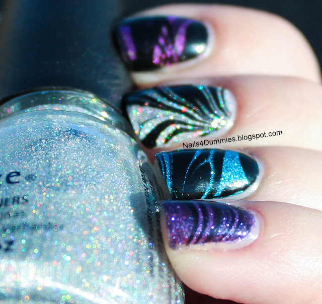 Glitter Water Marble