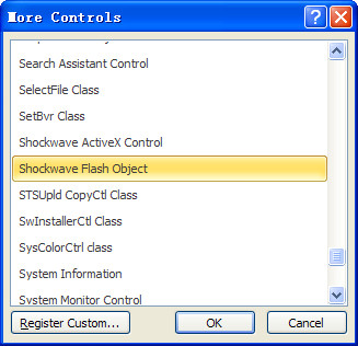 Shockwave Flash Object