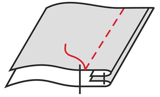 Как сшить пододеяльник запошивочным швом 96