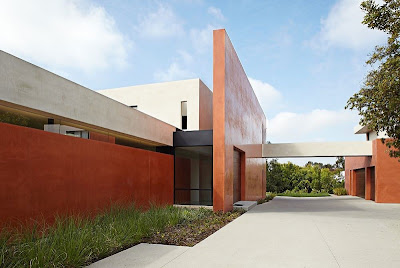 Casa moderna fachada minimalista