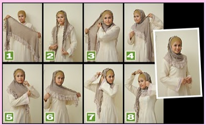 Jilbab & Hijab Modis Tutorial: 08/12/12